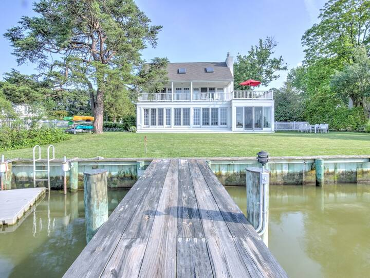 Oxford Oasis - Waterfront Home & Guest House, Pool, Kayaks, Grill!