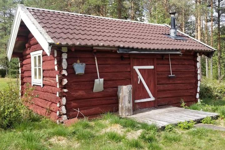 Trivelig hytte fra 1721 i Ljørdalen