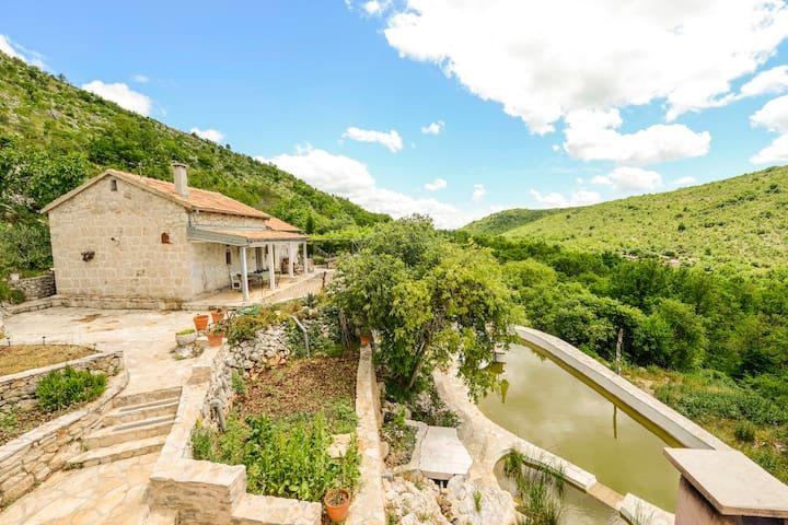 Baba Mara's Place + Natural Pool - Dobromani