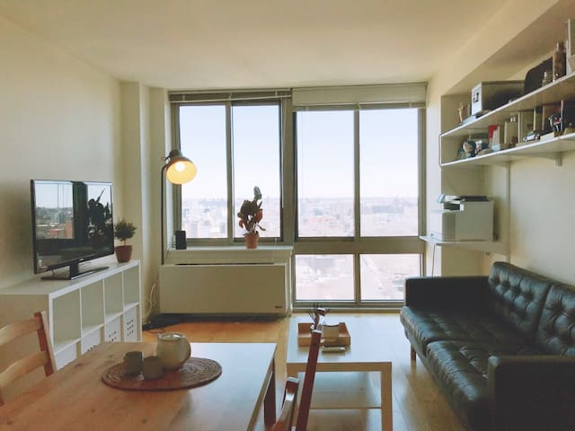 Modern 1Br w/A High-Rise view in Brooklyn DT
