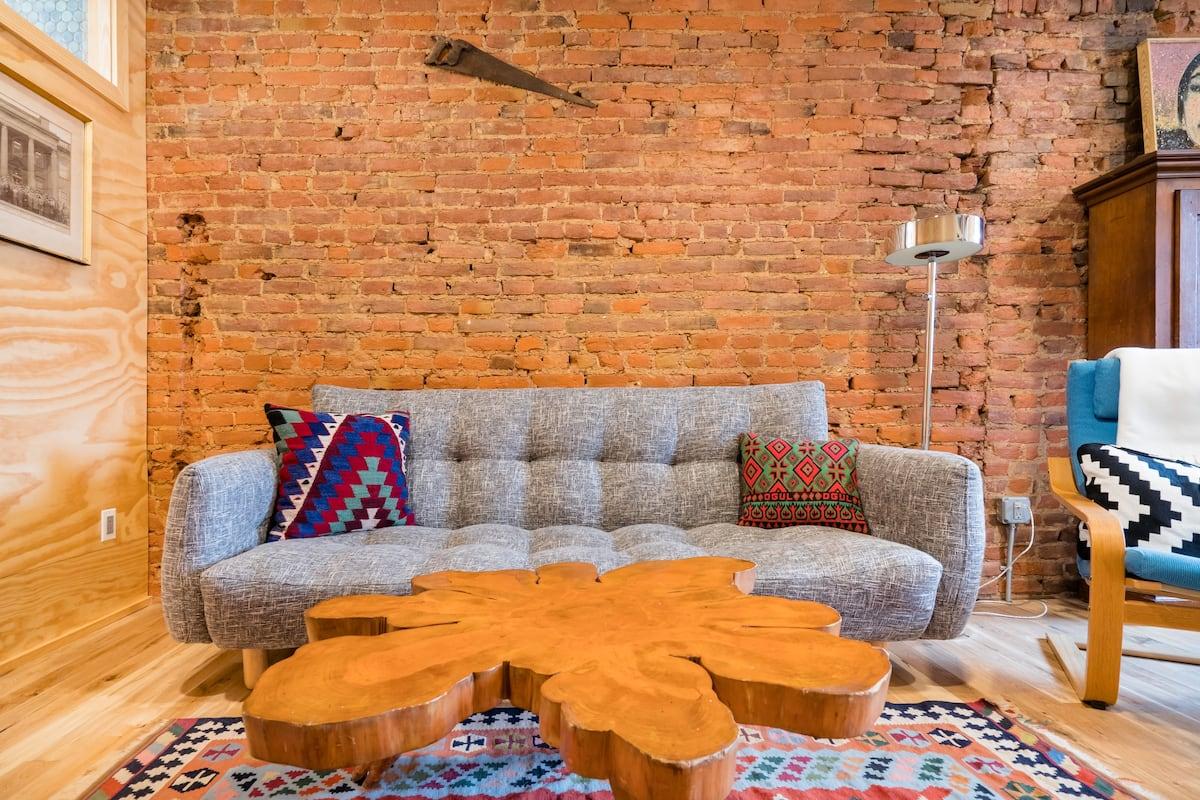 Hawthorne House- Designer Philadelphia Rowhouse