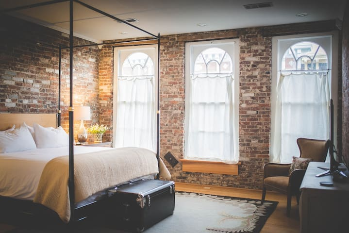 The Danville Loft-Luxury in the Heart of Downtown!