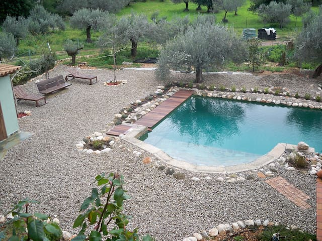 Beautiful Eco Country-style House with Pool! - Galataki - Condominium