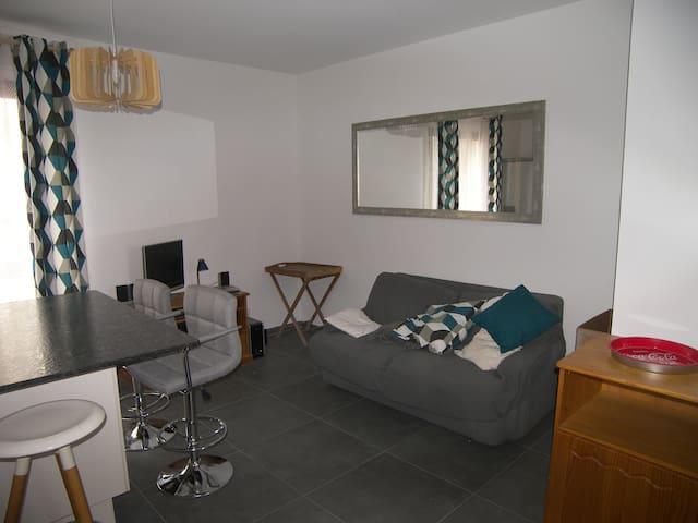 Appartement cosy à proximité immédiate du centre