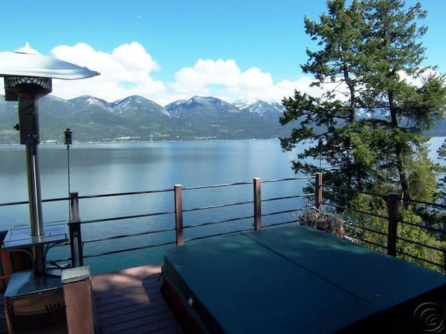 Beautiful Lakefront House on Flathead