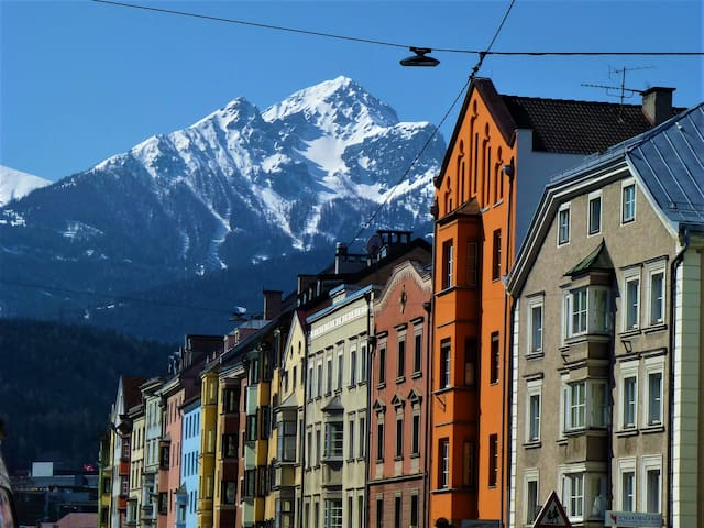 Comfy apartment directly in Innsbruck's center