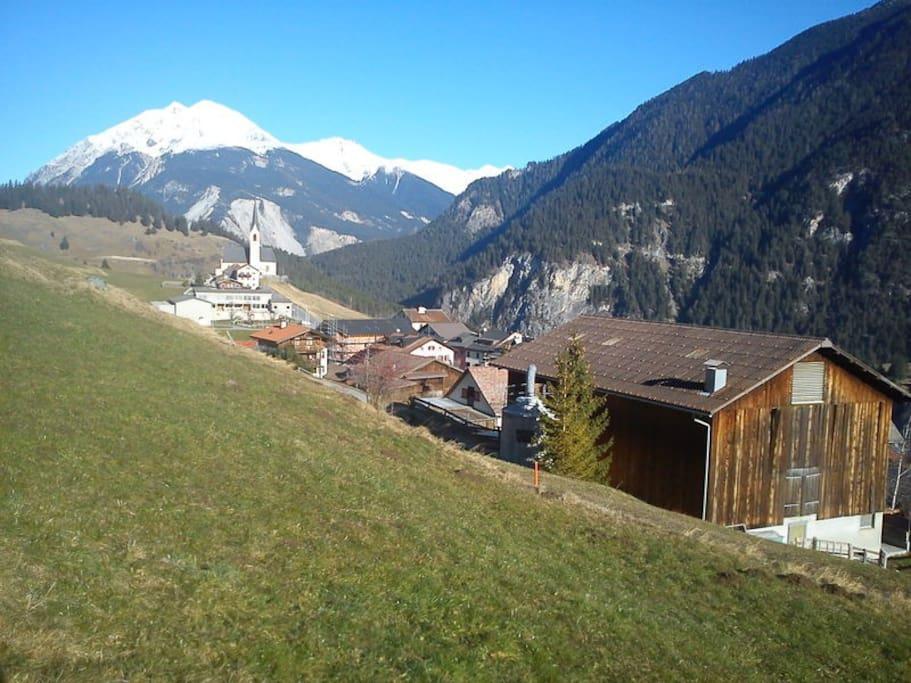 Zwischen Chur & St. Moritz (N3) 1`258m.ü.M.