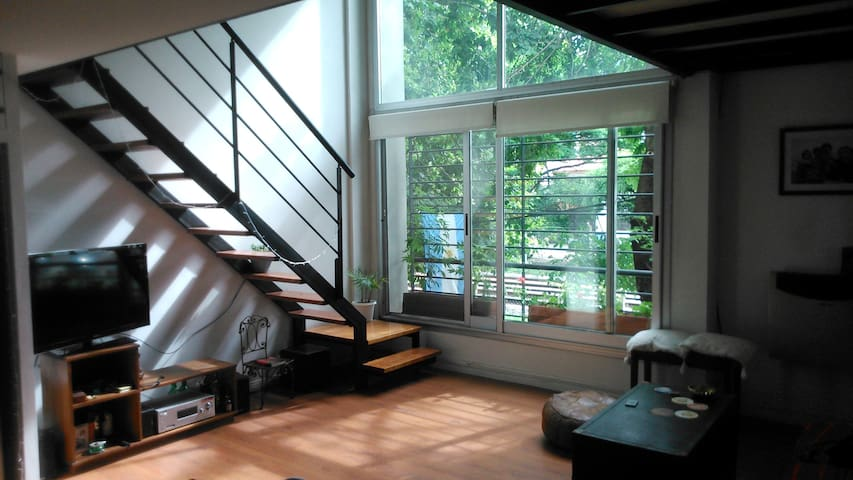 Cute Loft close to the river. 55sqm