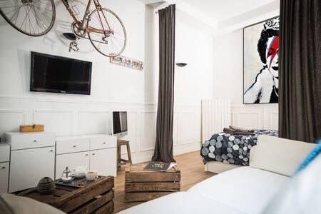 Studio de charme chaleureux Paris - Vincennes - Wohnung