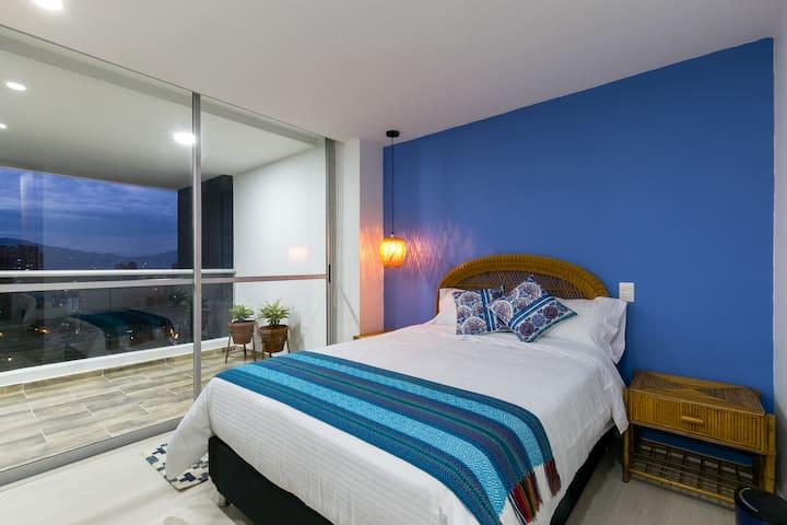 Studio Apartment - Amazing View - El Poblado 1101