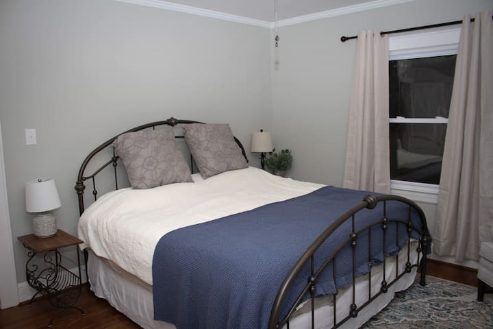 Front bedroom with King bed