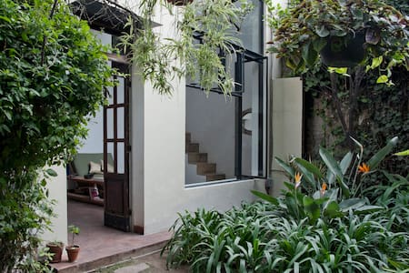 19th Century House Garden Studio - México