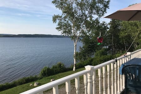 Cottage at the Water's Edge of the Bras d'Or Lakes