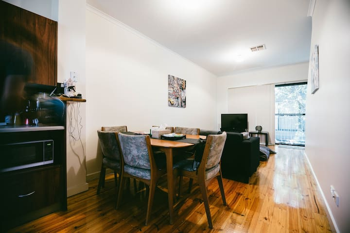 Spacious room in the heart of city - Adelaide - Appartement