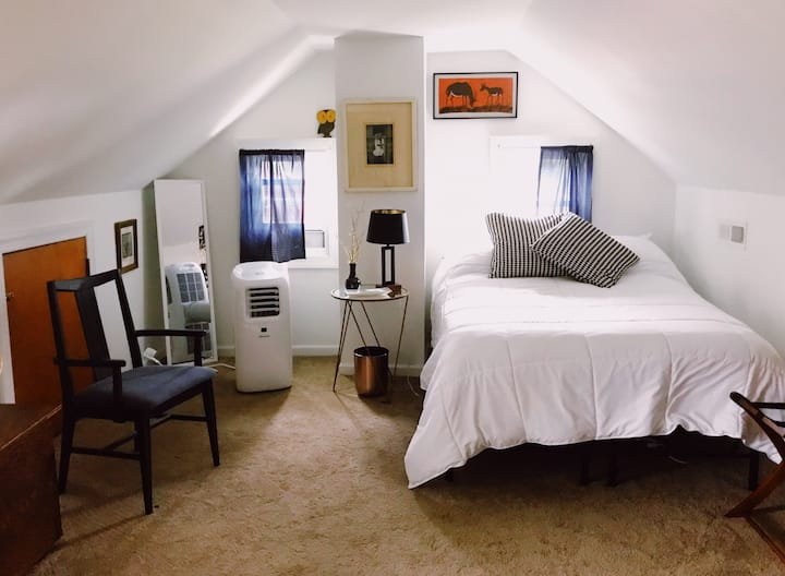 Private upstairs stay in the southside of RVA.
