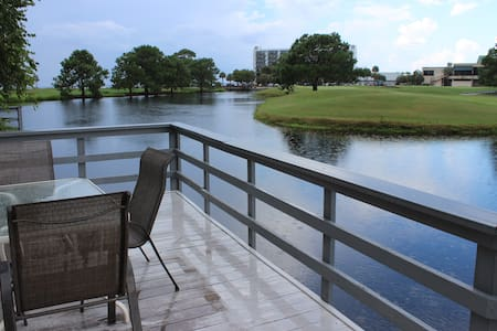 Bay View, Free Golf, Six-Seat Golf Cart, Pet Friendly Linkside 434 - ミラマービーチ - 別荘