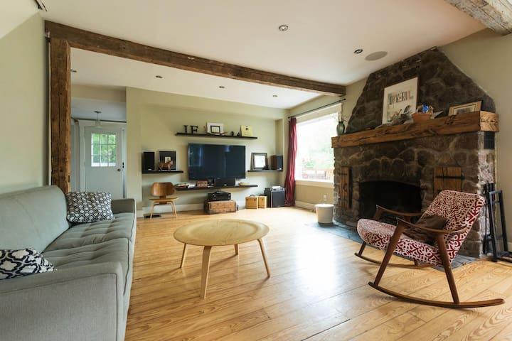 Modern Farmhouse in Catskill Park - Lanesville - Casa