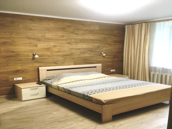 Апартаменты Ленина 73 спальня + студия в Центре