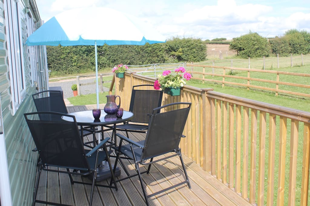 Chill out on the decking