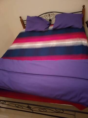 Bien venu dans un appartement propre , calme  .