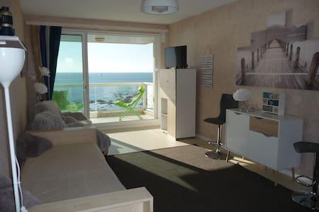 Appt face océan avec garage, Sables d'Olonne