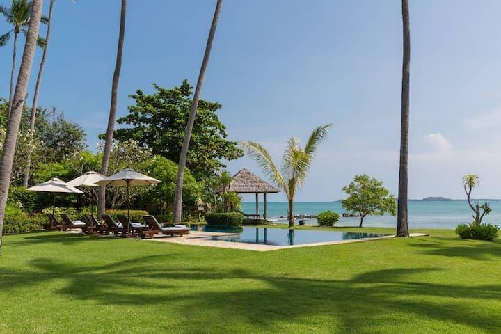 7+ BR Beachfront villa Ban Sairee
