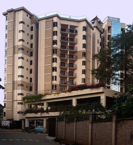 New furnished  2BR Modern Apartment with Balcony