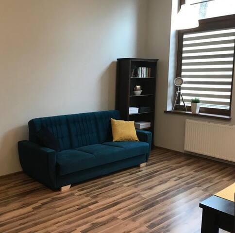 Loftowy apartament w centrum Bielska-Białej