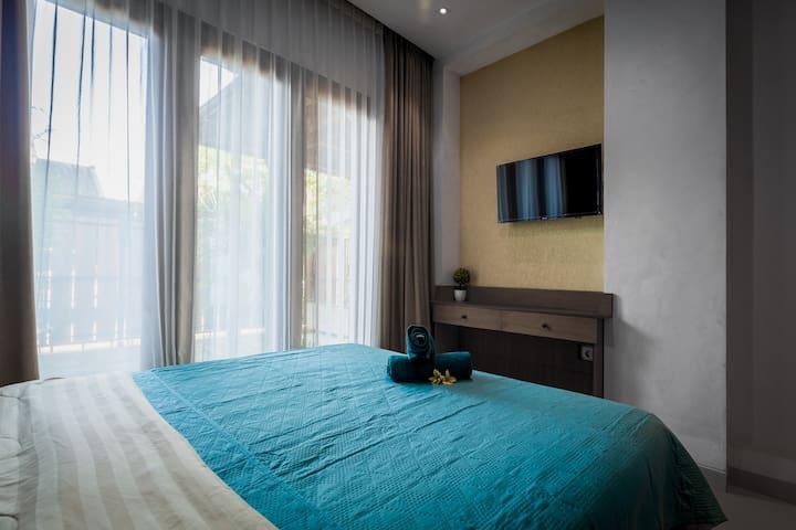 在市中心租一间便宜又舒适的房子。