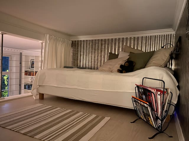 Loft with bed
