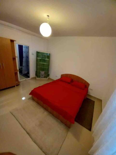 Casa cu soba, încălzire prin pardoseală