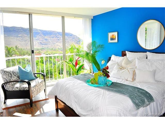Hawaiian Haven-Ocean view(2bd/1ba)-30 day minimum