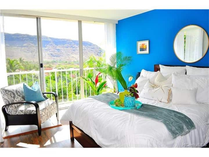 Hawaiian Haven-Ocean view(2bd/1ba)