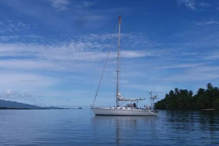 San Blas en velero por 99€ pasajero/noche. 🏝️⛵🐬
