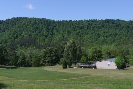Peaceful weekend retreat in the woods near Mena AR