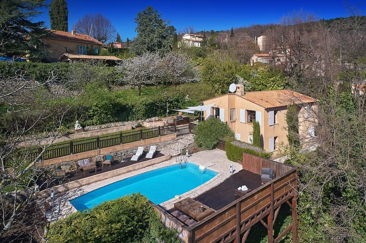 Villa Mirabelle - Charming French villa with pool - Cabris - Feriehjem