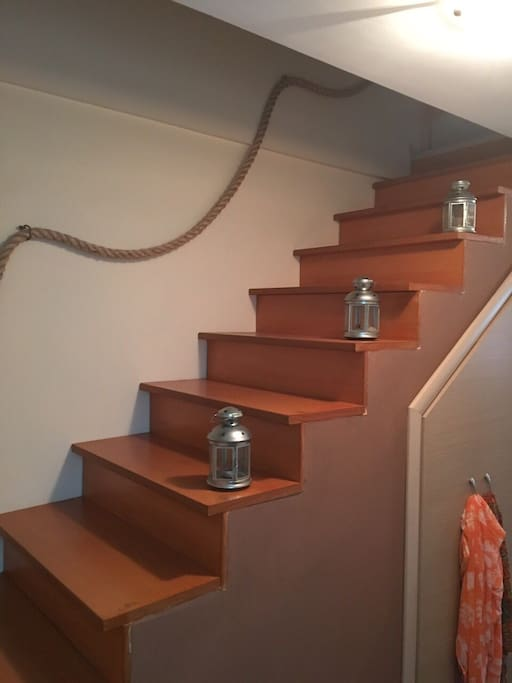 Stairs for attic