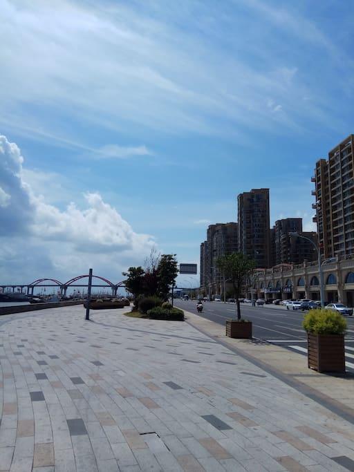 滨港路步行街