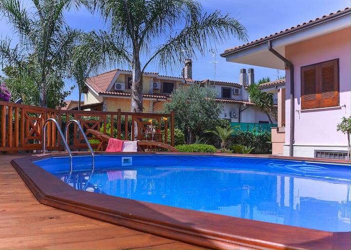 Villa esclusiva con pool privata