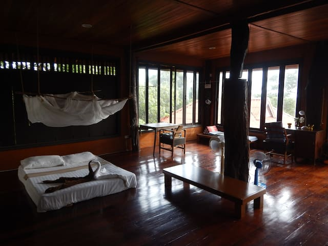 Baan Rao Bed & Breakfast - Seaview Family room - Amphoe Ko Lanta - Bed & Breakfast