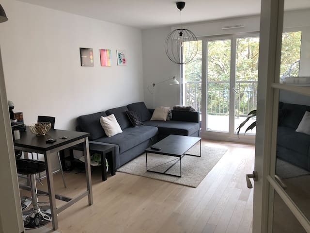 Appartement T2, 42m2, proche Paris, Suresnes