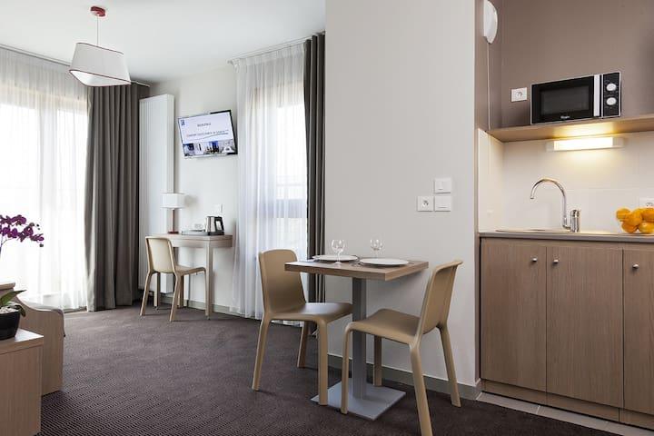 Appartement 4 personnes - 38 m² - proche Genève