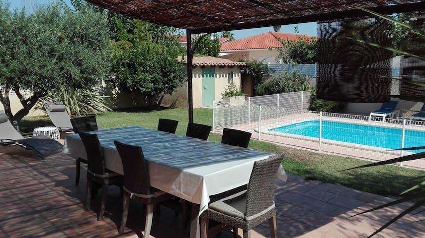 Agréable villa au calme, proche mer et montagne - Corneilla-Del-Vercol