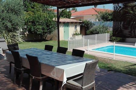 Agréable villa au calme, proche mer et montagne - Corneilla-Del-Vercol - Villa