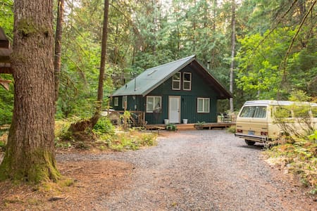 Tiny: An A-Frame Cabin in the Woods