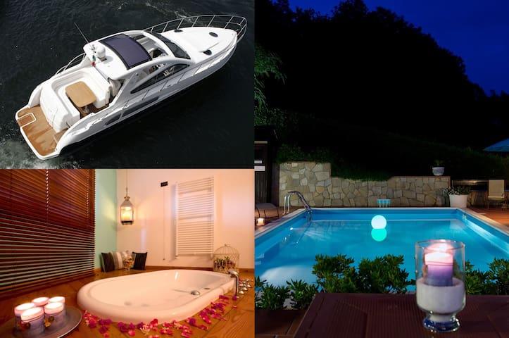 Villa Luna with Pool, SPA + 1 day Yacht in 5 Terre - La Spezia - Villa
