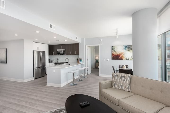 Modern 2 Bedroom Apartment in Bethesda Chevy Chase