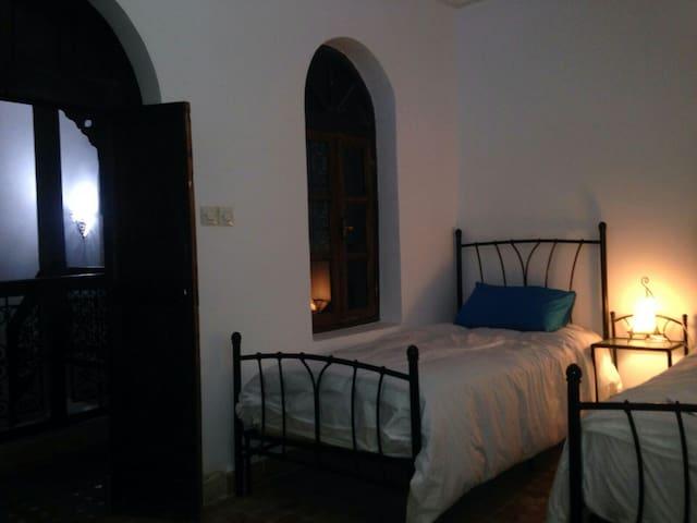 Location deux chambres riad typique - Rabat  - Casa