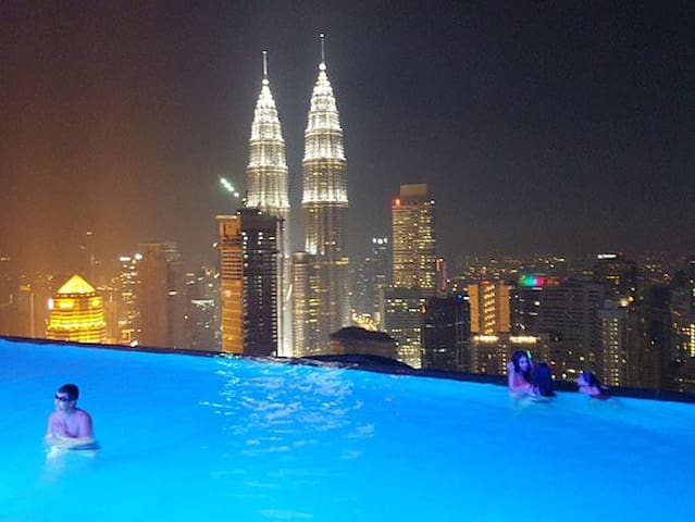 AMAZING NEW ROOM IN HEART OF KL,NEAR TWIN TOWER - Kuala Lumpur - Apartamento