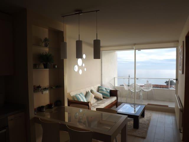 Edificio Las Golondrinas, vistas al mar, playas - Viña del Mar